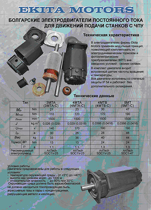 Ekita Company Dc Motors Manufacturer Dc Motors For